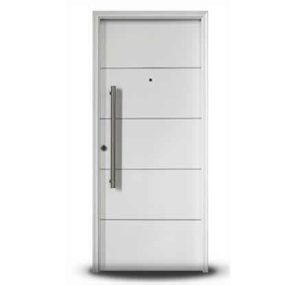 Puerta linea primma plus blanca gastaldi campo y for Puertas de madera blancas para exterior